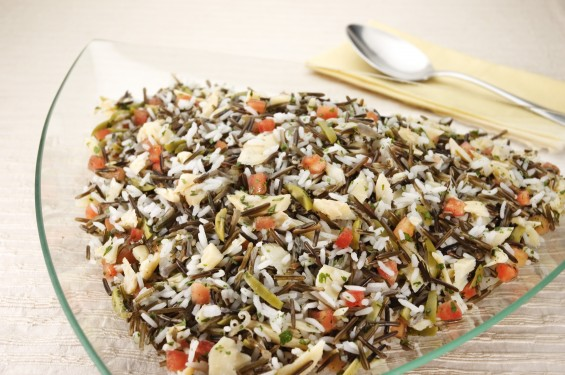 Como preparar o arroz selvagem gastrovia turismo e - Como cocinar arroz ...
